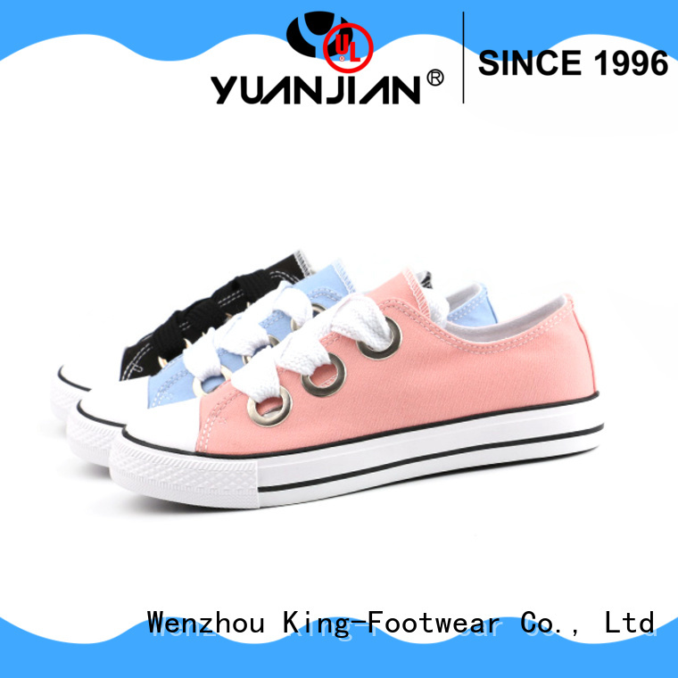 King-Footwear best mens canvas shoes wholesale for travel