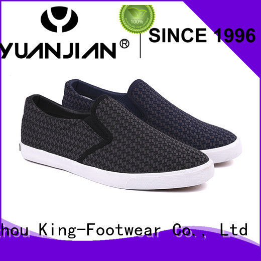 King-Footwear slip on skate shoes design for occasional wearing