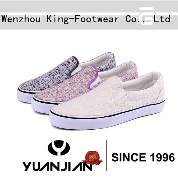 hot sell vulcanized shoes factory price for occasional wearing