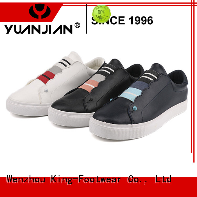 King-Footwear fashion most comfortable skate shoes supplier for schooling