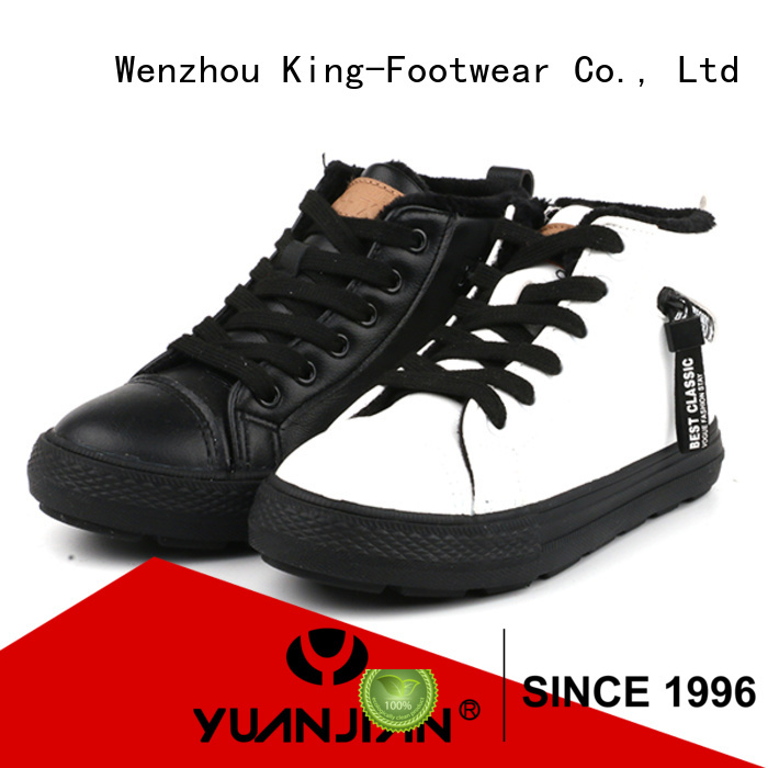 King-Footwear slip on skate shoes factory price for occasional wearing