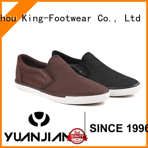 King-Footwear modern casual slip on shoes factory price for schooling