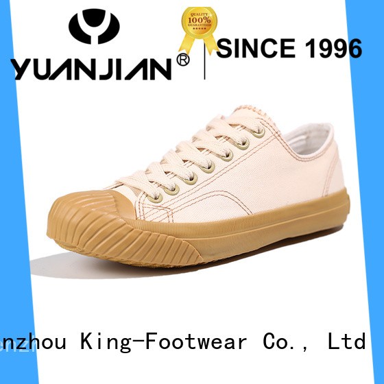 King-Footwear womens canvas trainers manufacturer for working