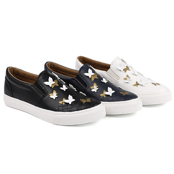 Pretty slip on woman's sneakers