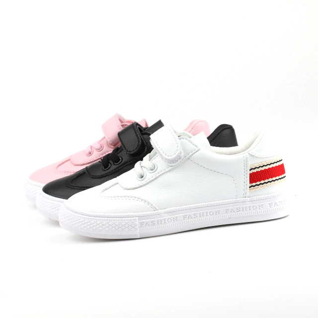 Spring buckle strap children casual shoes