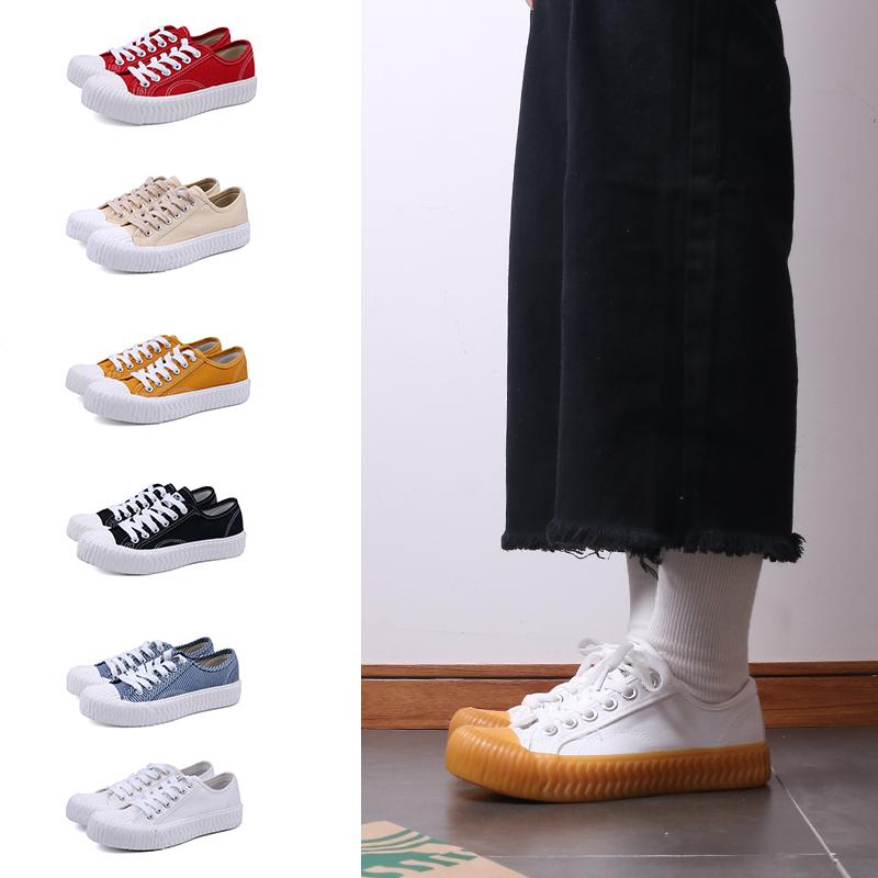 Fashion lace up ladies Canvas Shoes