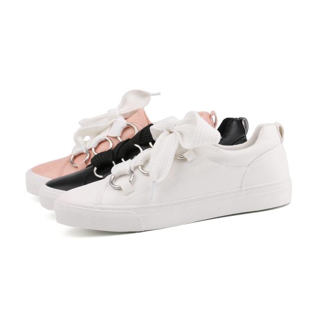 Pu lady custom sneakers