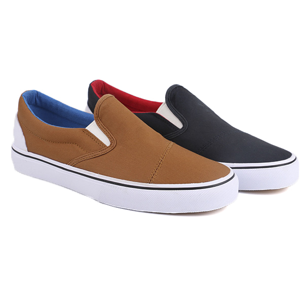 Plain loafers student skate casual shoes