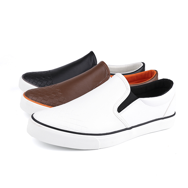 Youthful low cut man's slacker shoes