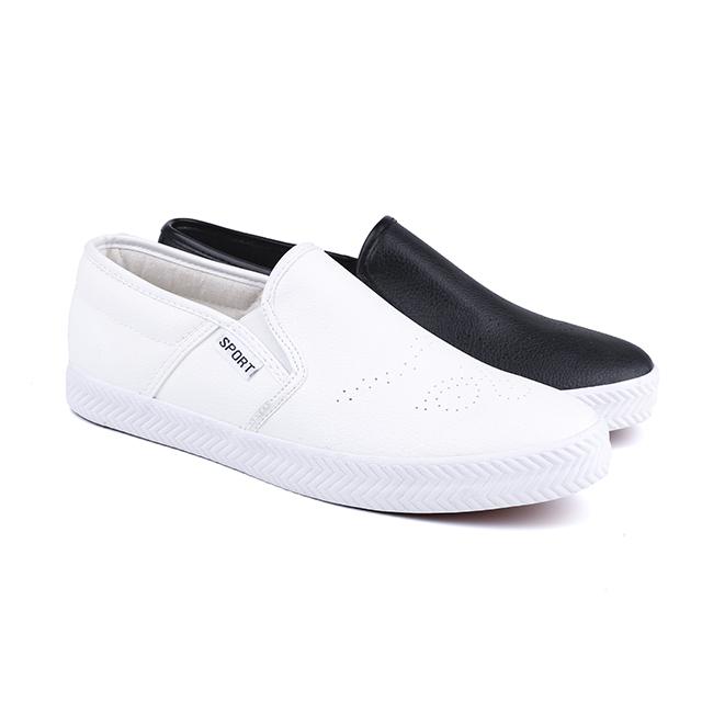 European no lace man's sneakers