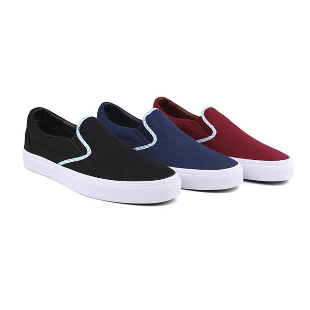 Summer slip on man skate shoes