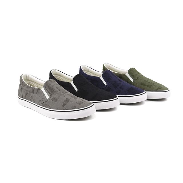 Retro slip on man skate shoes