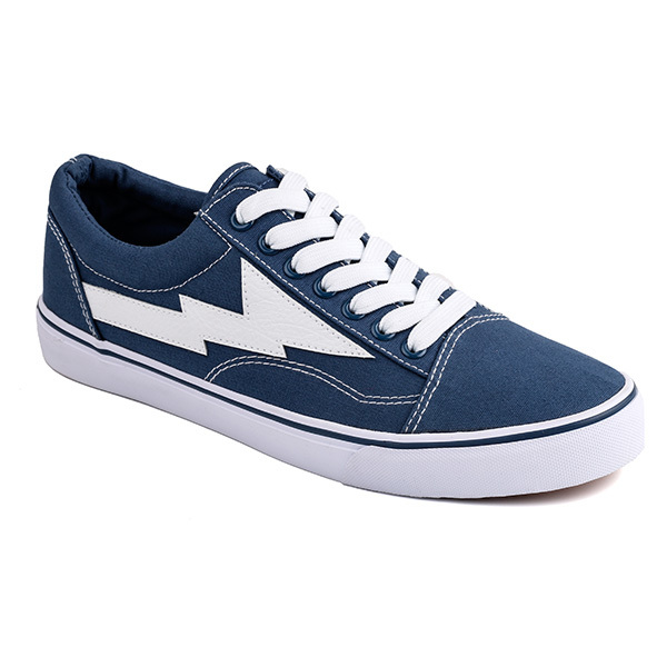 Popular lace up men skate sneakers