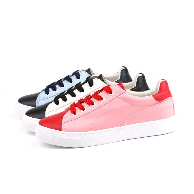 Multicolor lady skate footwear