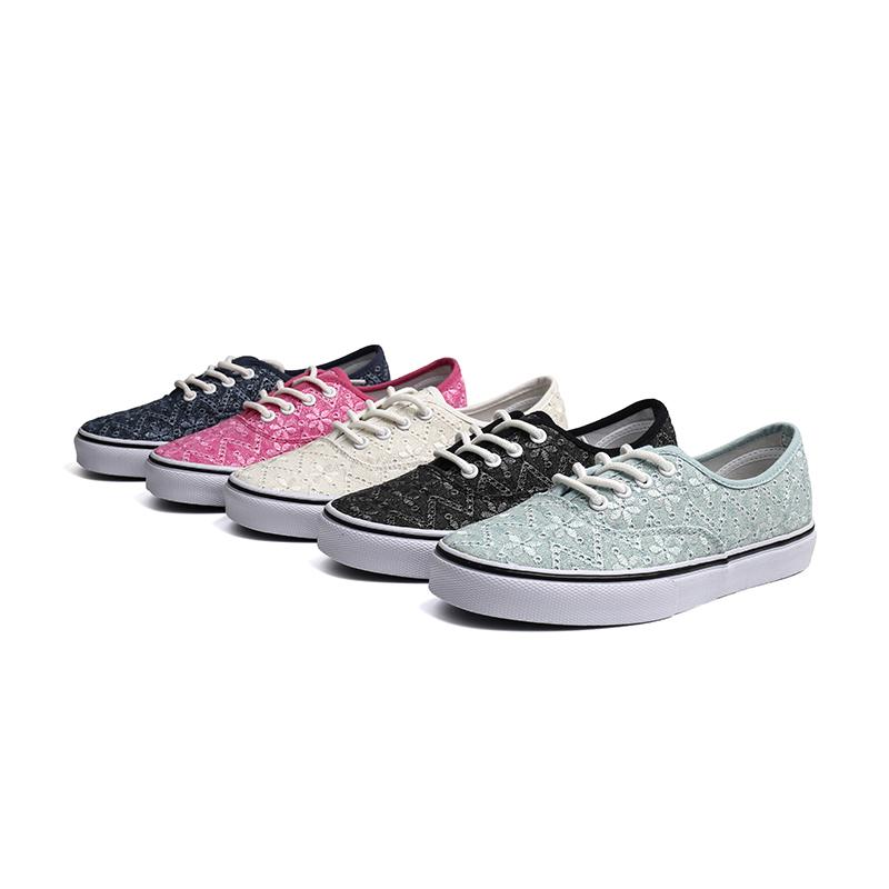 School low cut women skate sneaker