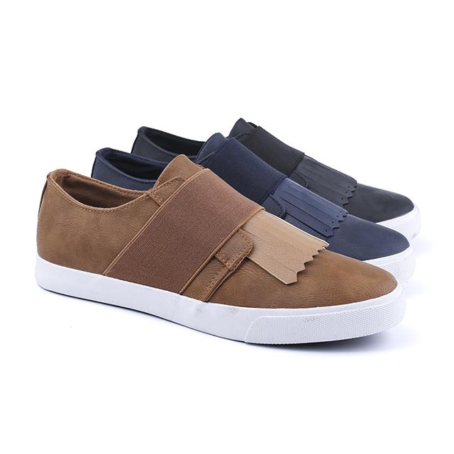 Design low cut man's slacker shoes
