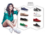 healthy stripe sneaker directly sale for children