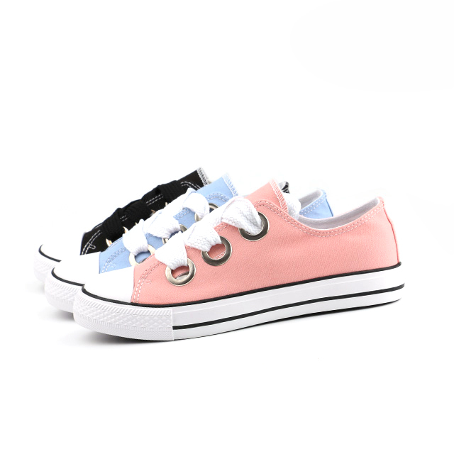 Trendy lace up unisex basic shoes