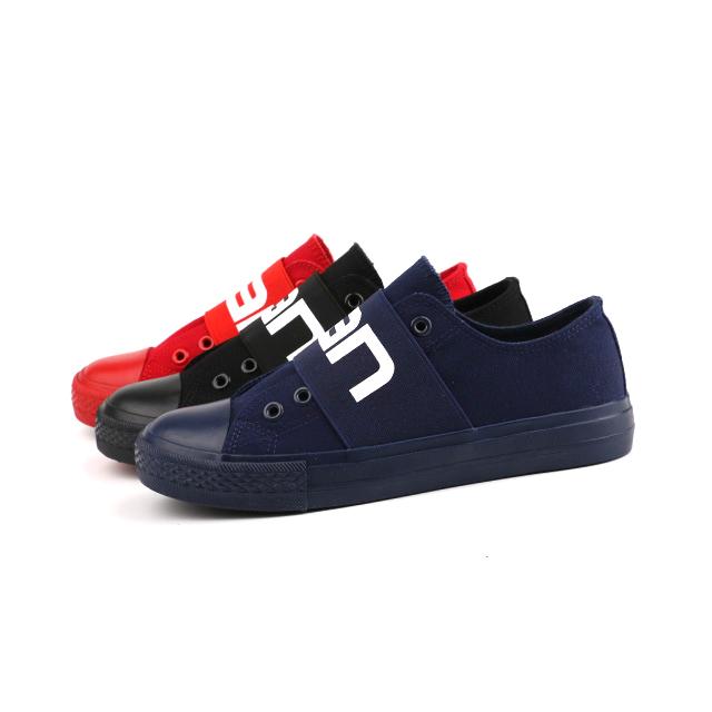 Custom lace up unisex basic shoes