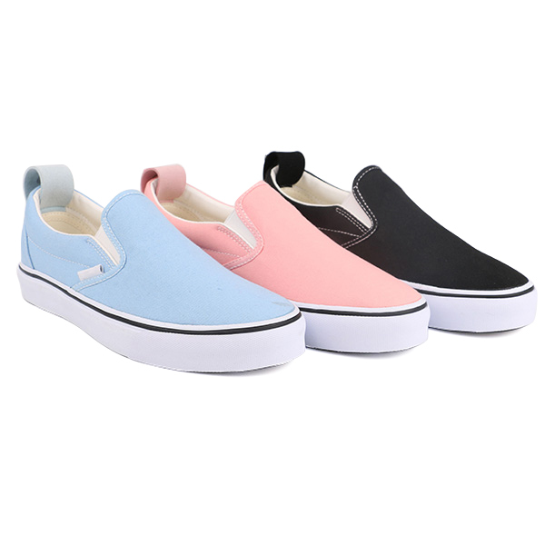 New arrival slip on woman skate shoes