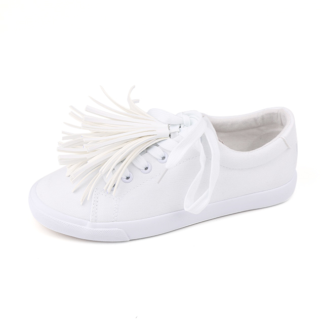 Environmental lace up unisex basic shoes