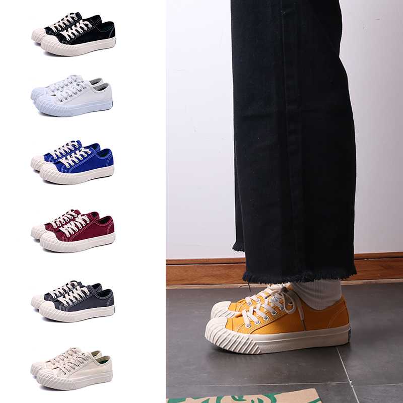 All match lace up unisex canvas shoes