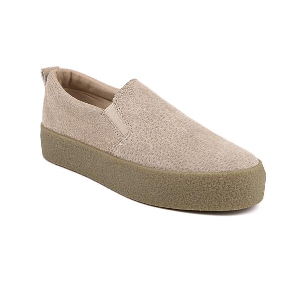 Blank slip on woman's sneakers
