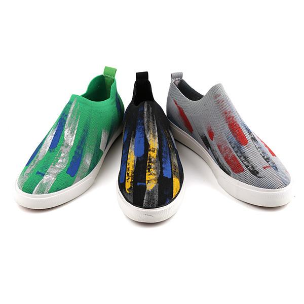 Fashion low cut man's slacker shoes