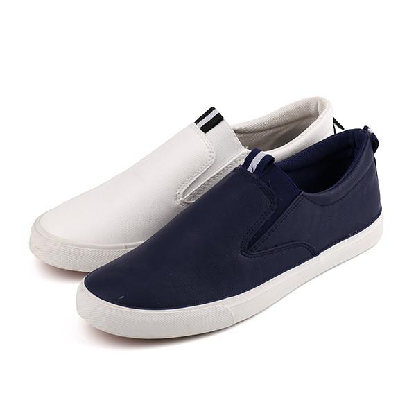 Vulcanized low cut man's slacker shoes