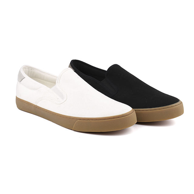 King-Footwear canvas slip on shoes promotion for school