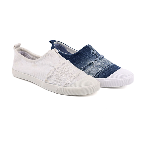 Fancy slip on woman's sneakers