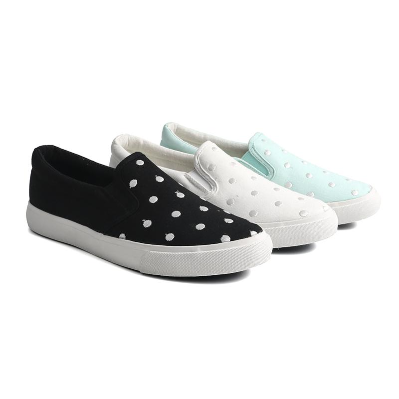 King-Footwear beautiful denim canvas shoes promotion for school