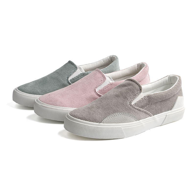 Athletic slip on woman's sneakers