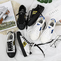 Durable with lace girls vulcanized shoes