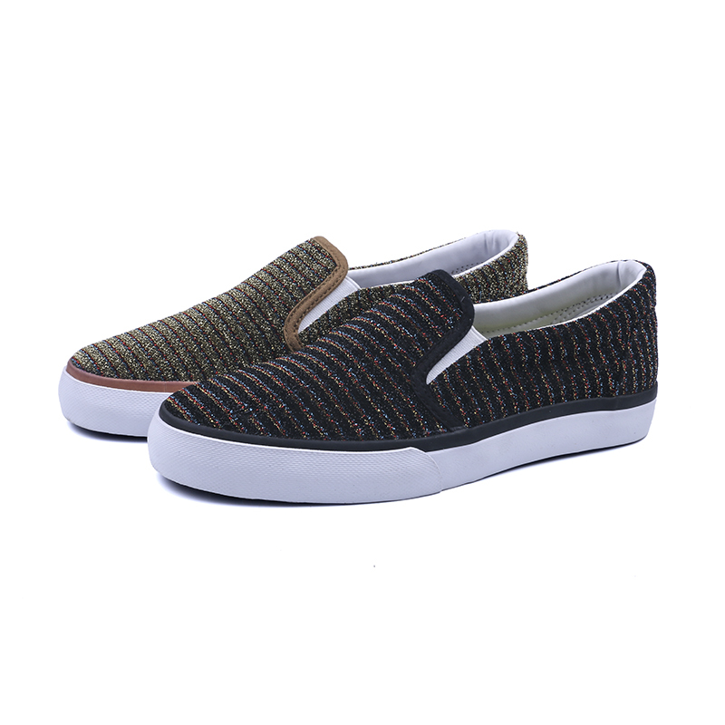 Breathable low cut lady casual shoes
