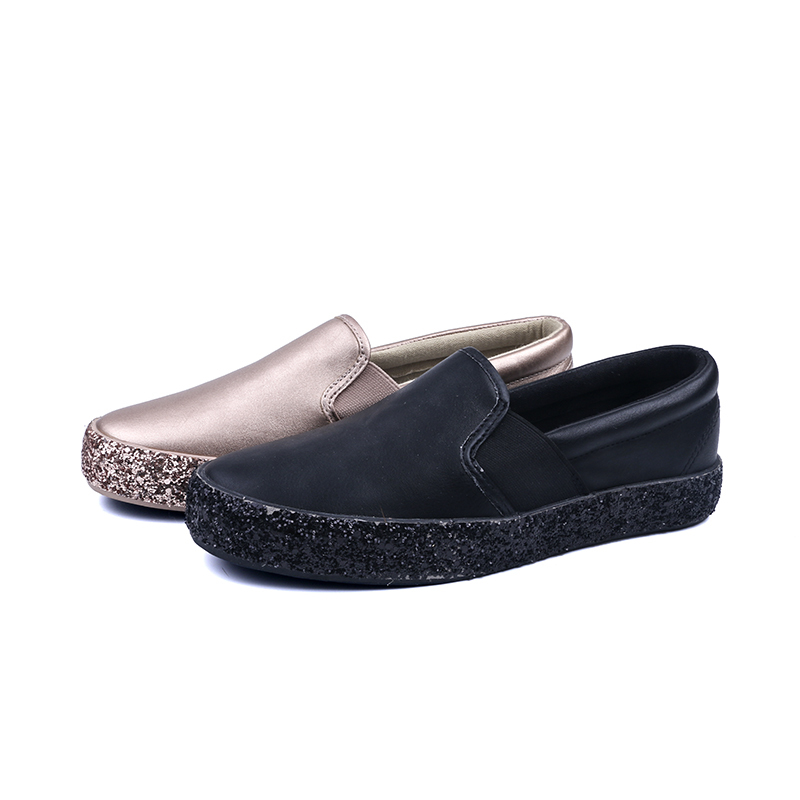 High-end low cut lady casual shoes