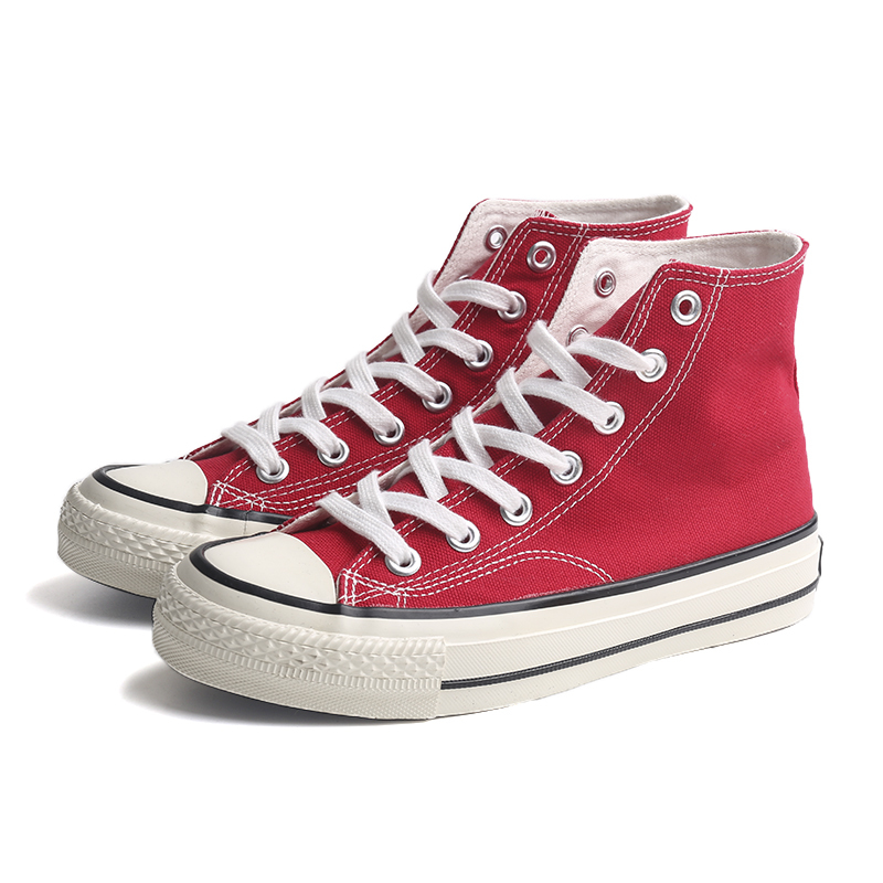 Cheap high top girls vulcanized shoes
