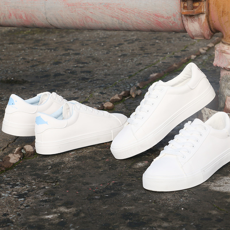 Ultra-soft with lace girls vulcanized shoes