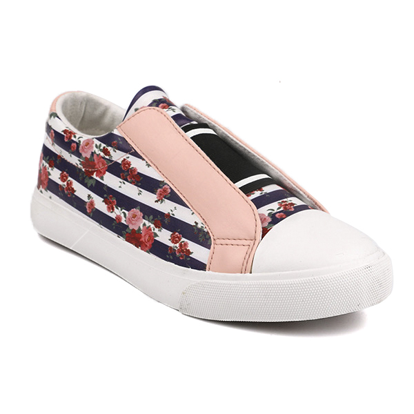 Popular low cut lady casual shoes