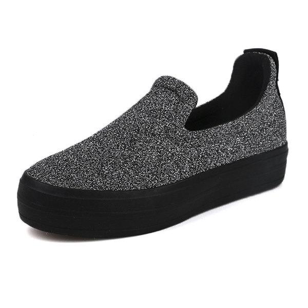Simple low cut lady casual shoes