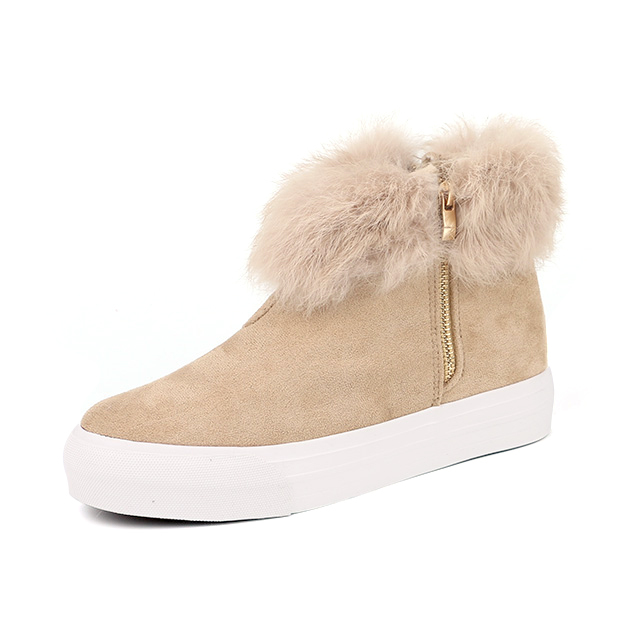 Blank high top lady casual shoes