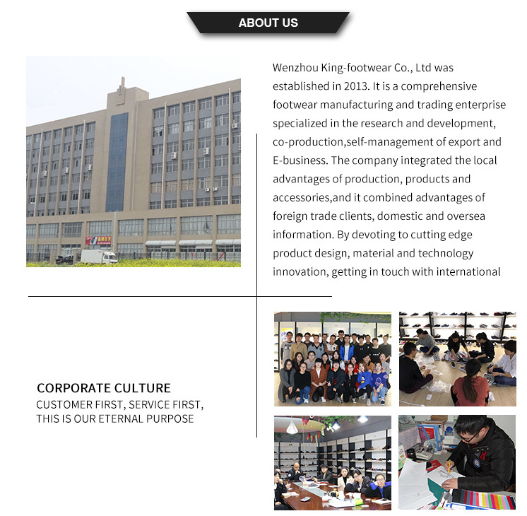 King-Footwear fashion canvas shoes factory price for working