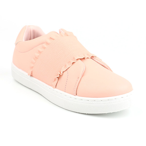 Inexpensive low cut lady casual shoes