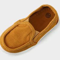 Retro slip on baby gym shoes