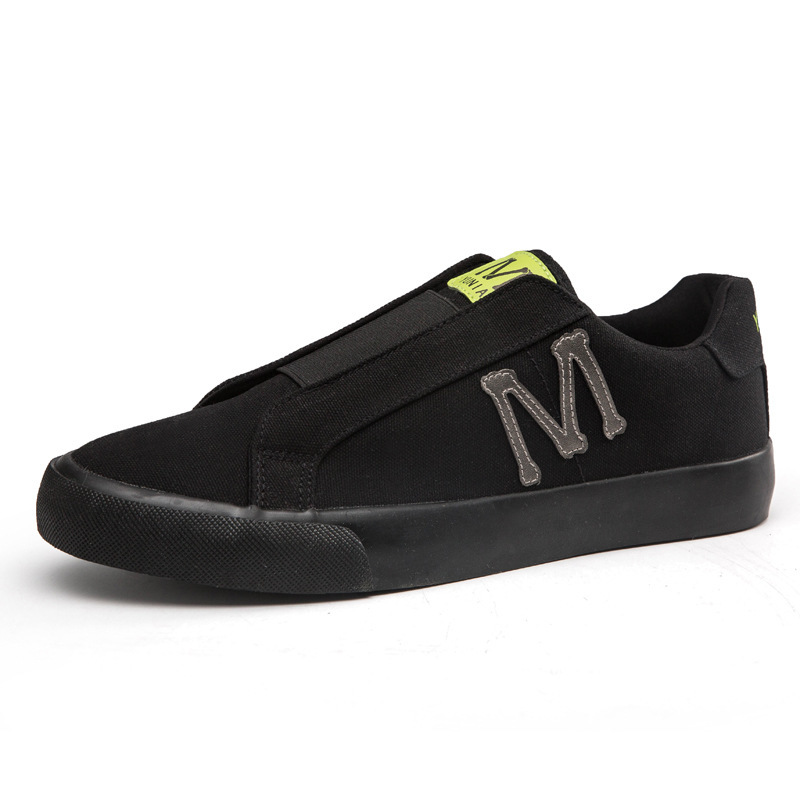 Youthful slip on men sneakers