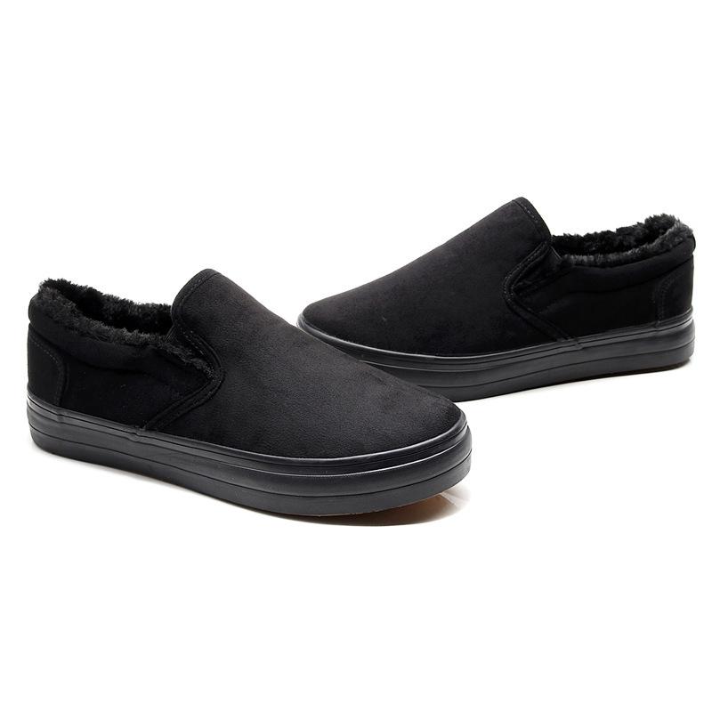 Vulcanized slip on men sneakers