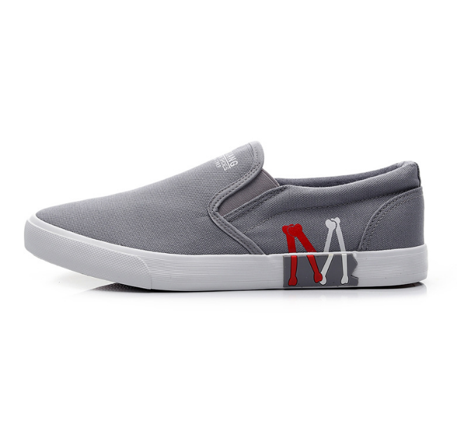 Simple slip on men sneakers