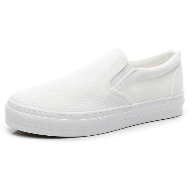 High outsole slip on men sneakers
