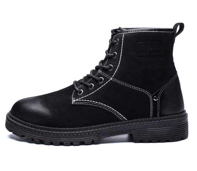 Promotion high top men's boots