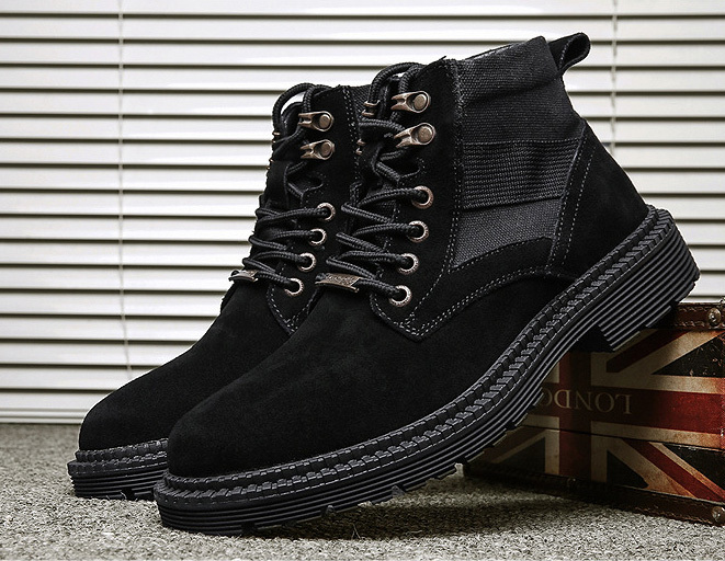 In stock high top men's boots
